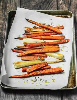 Colorful Roasted Carrots