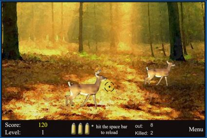 Screenshot of Deer Hunting Game