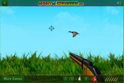 Screenshot of The Duck Hunter Game
