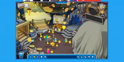 Screenshot of Club Penguin Online