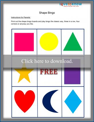 Shape Bingo thumbnail