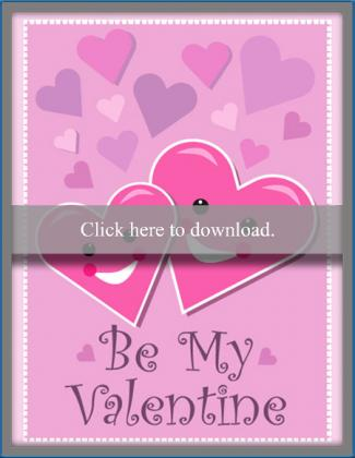 photograph about Printable Valentines Cards for Kids known as Absolutely free Printable Valentine Playing cards for Little ones LoveToKnow