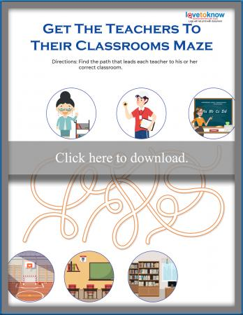 Three-path Teacher Maze
