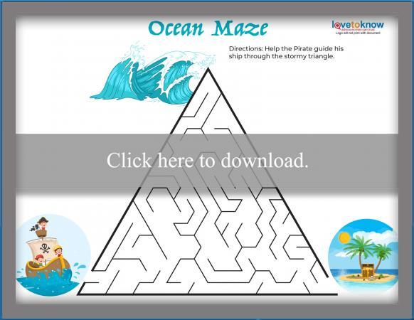 Ocean Triangle Maze