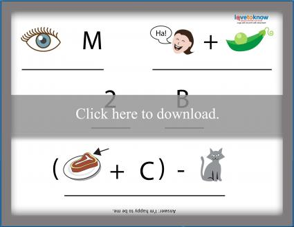 image about Free Printable Rebus Puzzles named Printable Rebus Puzzles for Youngsters LoveToKnow
