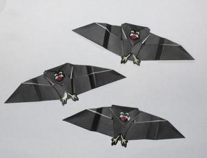 Origami Bat Instructions