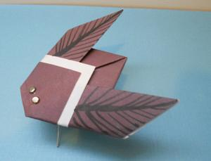 Origami Bug Instructions