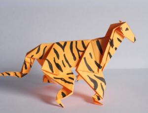 Origami Tiger Instructions