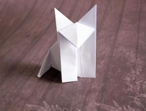 Origami Wolf Instructions