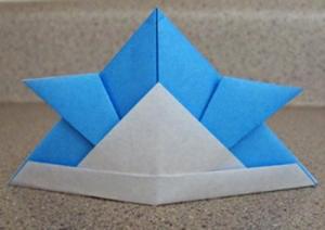 Origami Samurai Helment Instructions