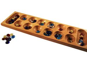 Wooden Mancala Game Board Instructions