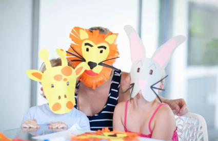 Children's mask making party