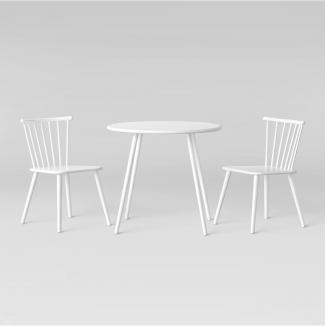 Metal Windsor Table and Chair Set