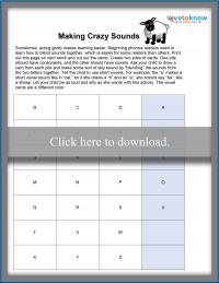Making Crazy Sounds Game