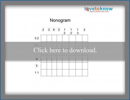 Easy Nonogram Puzzle