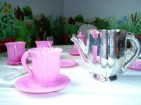 Collect tea sets for your little girl.