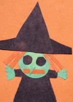 kids Halloween art