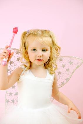 Dressing up as a fairy