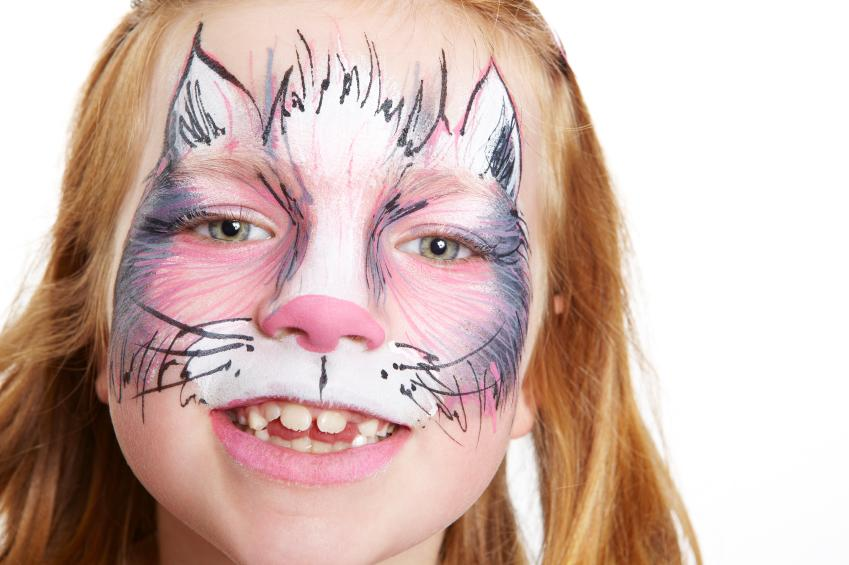 animal face painting lovetoknow