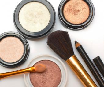 professional makeup assortment