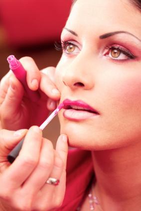 Professional application of makeup