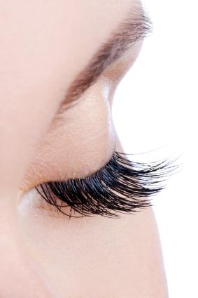 Glueless Method for Applying False Eyelashes