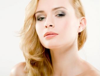 Professional model makeup