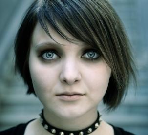 gothic look eyes