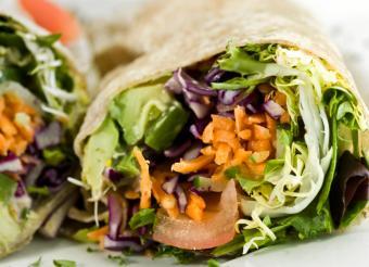 Healthy Wrap Sandwich