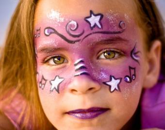 Free Festive Face Paint Design Photos