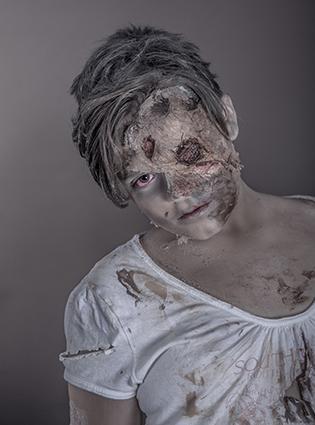 zombie scar makeup