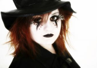 white witch makeup