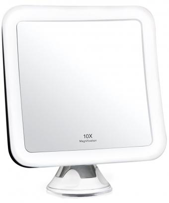 Fancii 10X Magnifying Lighted Makeup Mirror