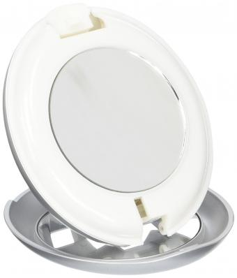 Zadro LED Lighted Flashlight Compact Mirror