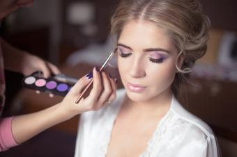 Beautiful Bride wedding makeup