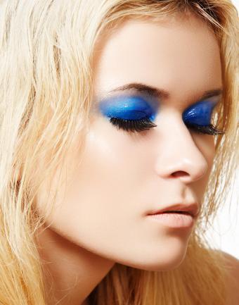 Royal Blue Eyeshadow
