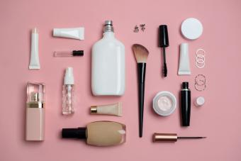 An array of beauty products