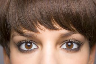 Brown-eyed woman