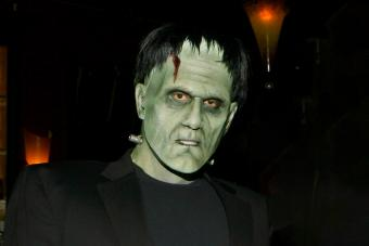 Frankenstein Makeup That's Larger Than Life (For All Ages)