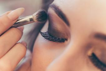 eyeshadow close up