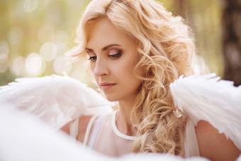 Celestial Halloween Angel Makeup