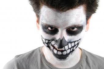 skeleton face makeup