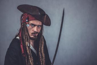 male pirate costume