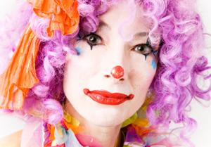 Applying Basic Clown Makeup