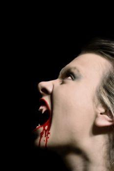Bloody Vampire Makeup