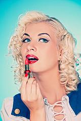 Pin Up Girl Makeup