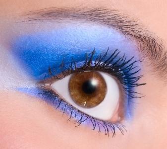Neon Blue Eyeshadow