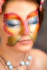 Butterfly fantasy makeup