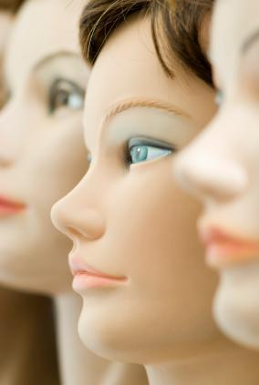 photo of doll faces