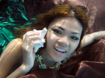 Mermaid Makeup Photos
